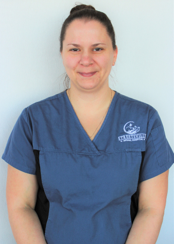Michelle Carreiro staff at Streetsville Animal Hospital